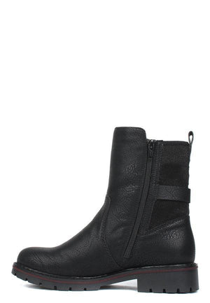 Rieker Womens Greece Rippstretch Ankle Boots Y9174-00 | Vilbury London