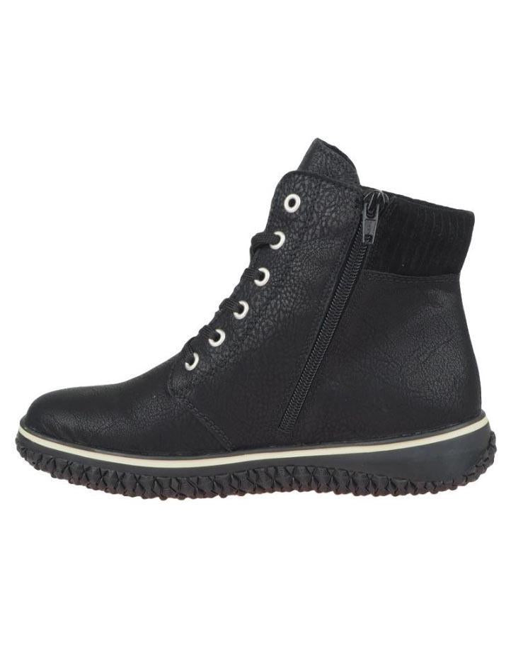 Rieker Womens Greece Virage Boots Z4226-00 | Vilbury London