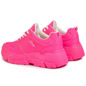 Fuxia Flat Shoes