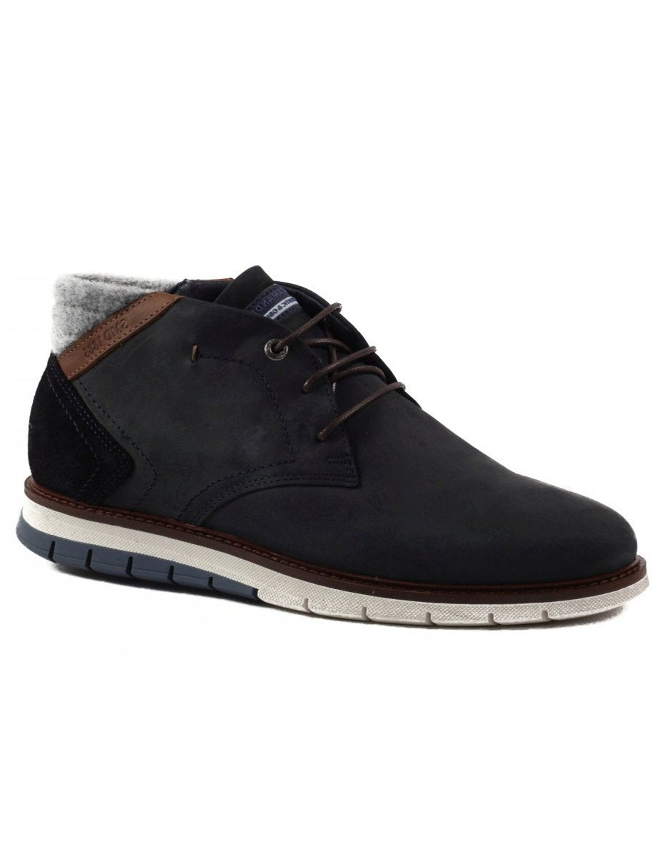 Salamander Mens Blue Matheus Booties 31-56511-02 | Vilbury London