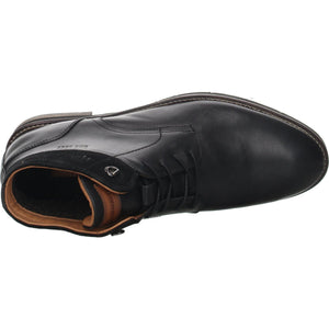 Salamander Mens Black Vasco-Aw Flats 31-58907-69 | Vilbury London