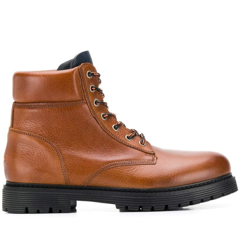 Tommy Jeans Mens Brown Tommy Jeans Outdoor Warm Boots EM0EM00302-906 | Vilbury London