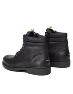 Tommy Jeans Mens Black Casual Leather Boots EM0EM00314-990 | Vilbury London