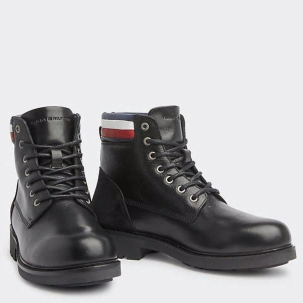 Tommy Hilfiger Mens Active Waterproof Boots FM0FM02428-990 | Vilbury London