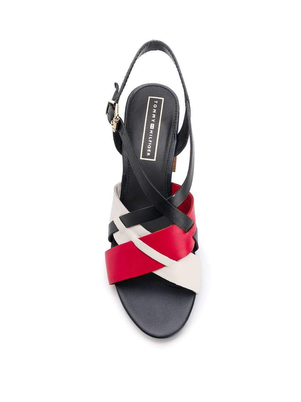 Tommy Hilfiger Womens TH Multi Heels FW0FW04050-020 | Vilbury London