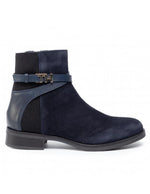 Tommy Hilfiger Womens TH Hardware Booties FW0FW04281-403 | Vilbury London