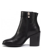 Tommy Hilfiger Womens Corporate Hardware Booties FW0FW04488-BDS | Vilbury London
