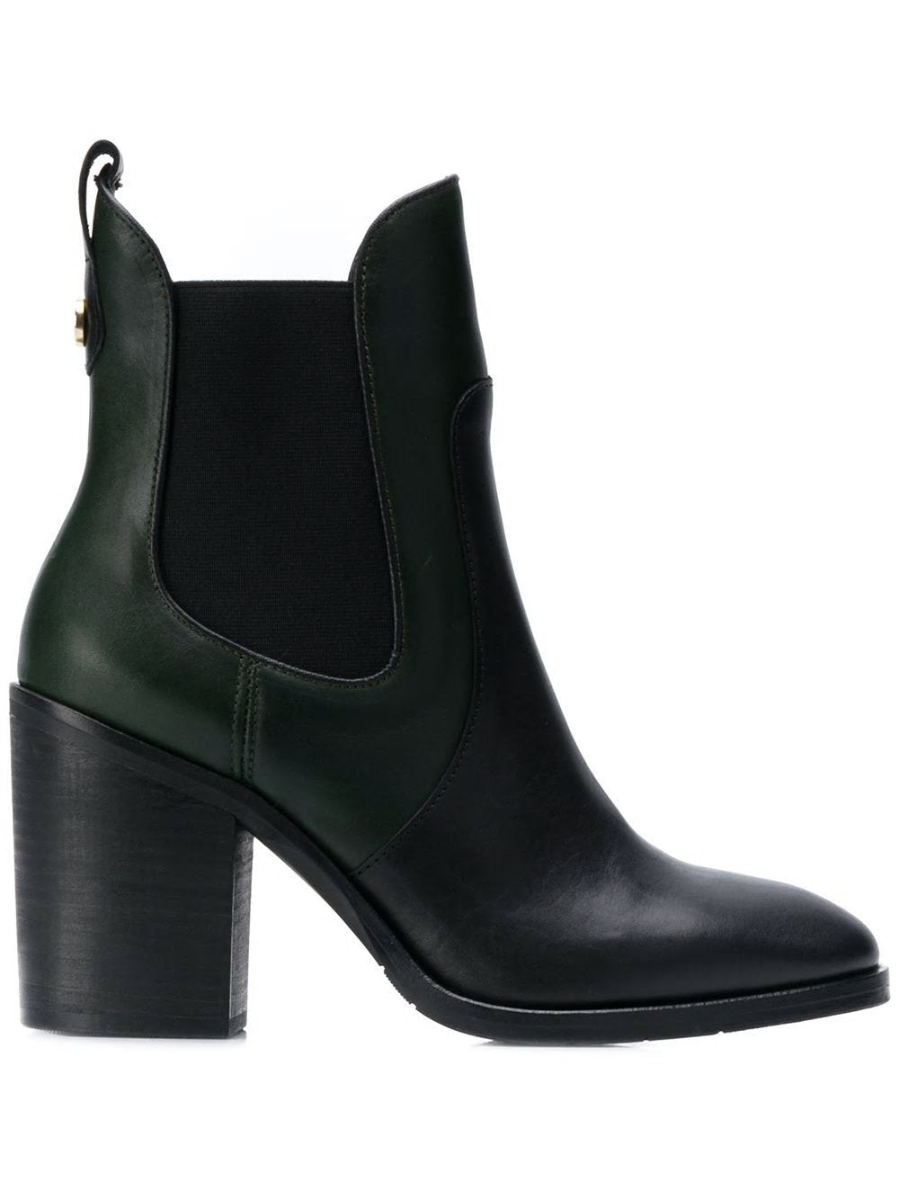 Tommy Hilfiger Womens Color Block Chelsea Booties FW0FW04495-LBK | Vilbury London