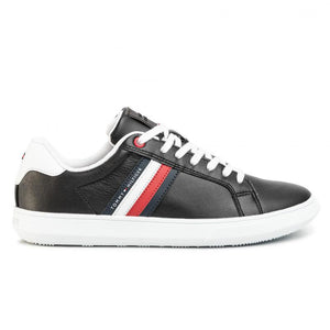 Tommy Hilfiger Mens Essential Cupsole Cupsole Sneakers FM0FM02668-BDS | Vilbury London