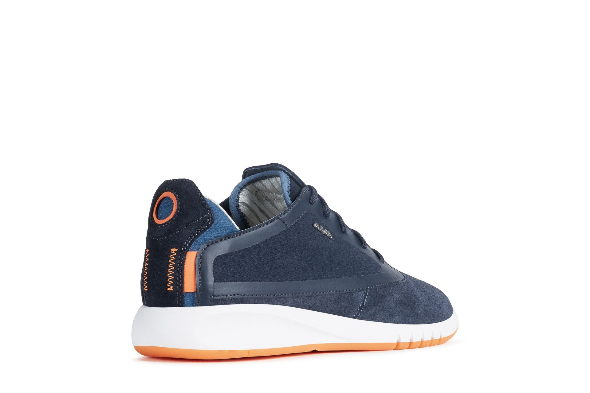 Geox Mens Blue U Aerantis Trainers U027FA02211C4002 | Vilbury London