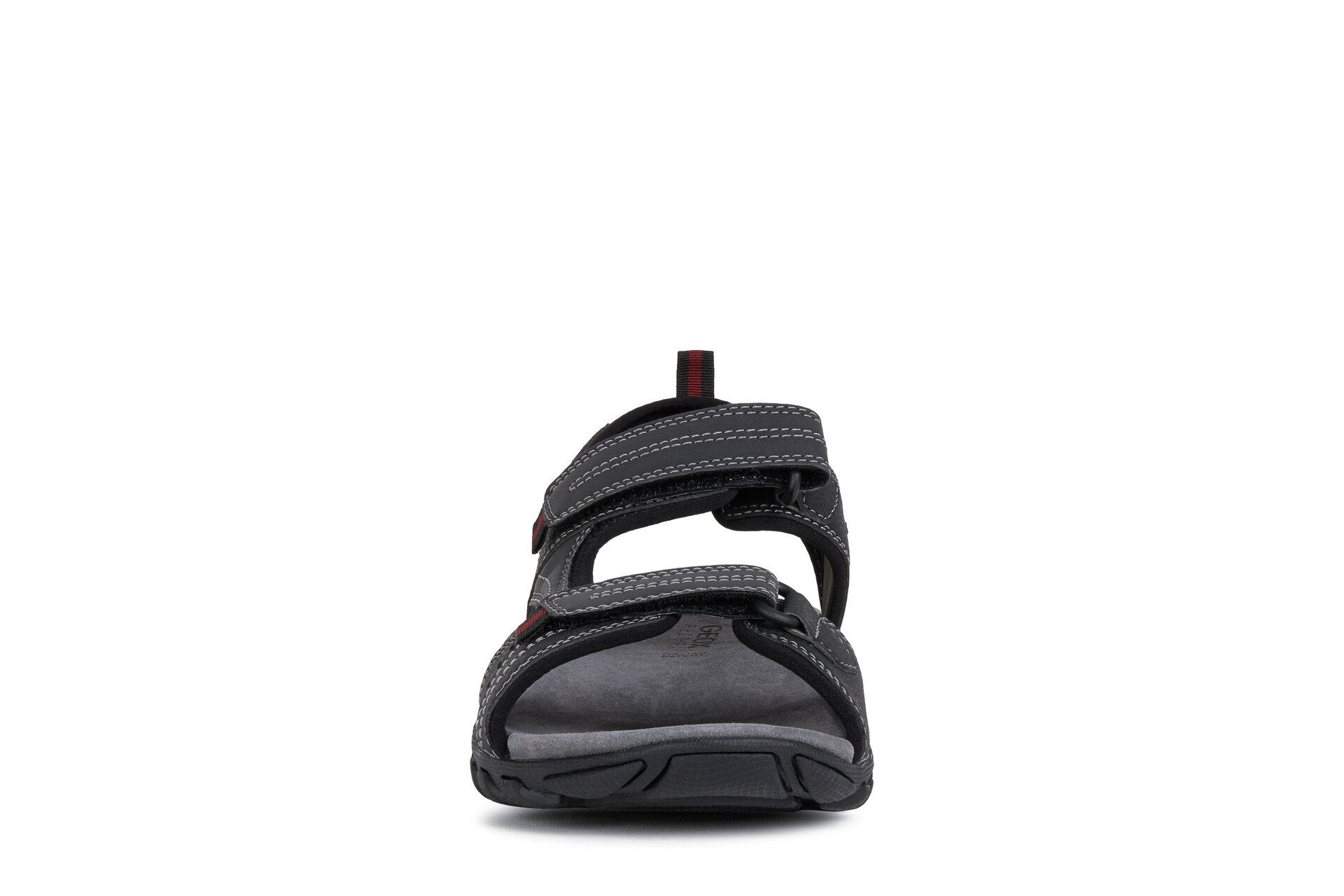 Geox Mens Black U Sand Mito Sandals U02Q2B0BC50C9999 | Vilbury London