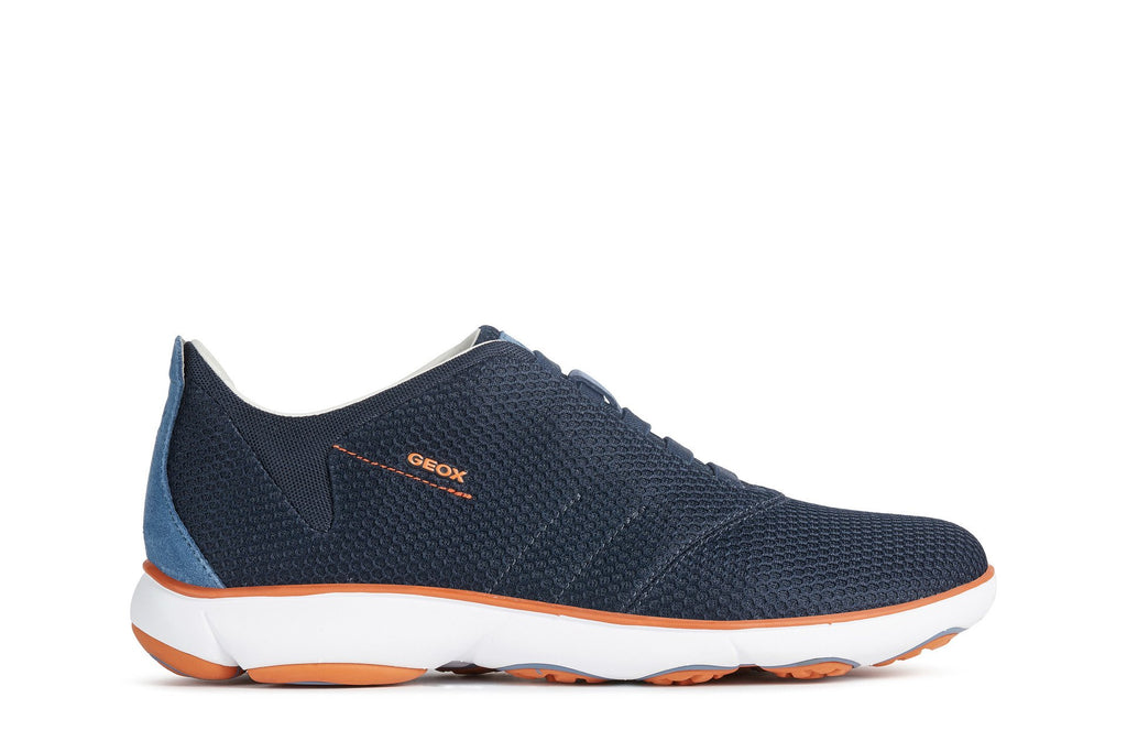 Geox Mens Blue U Nebula Trainers U62D7F00014C4002 | Vilbury London