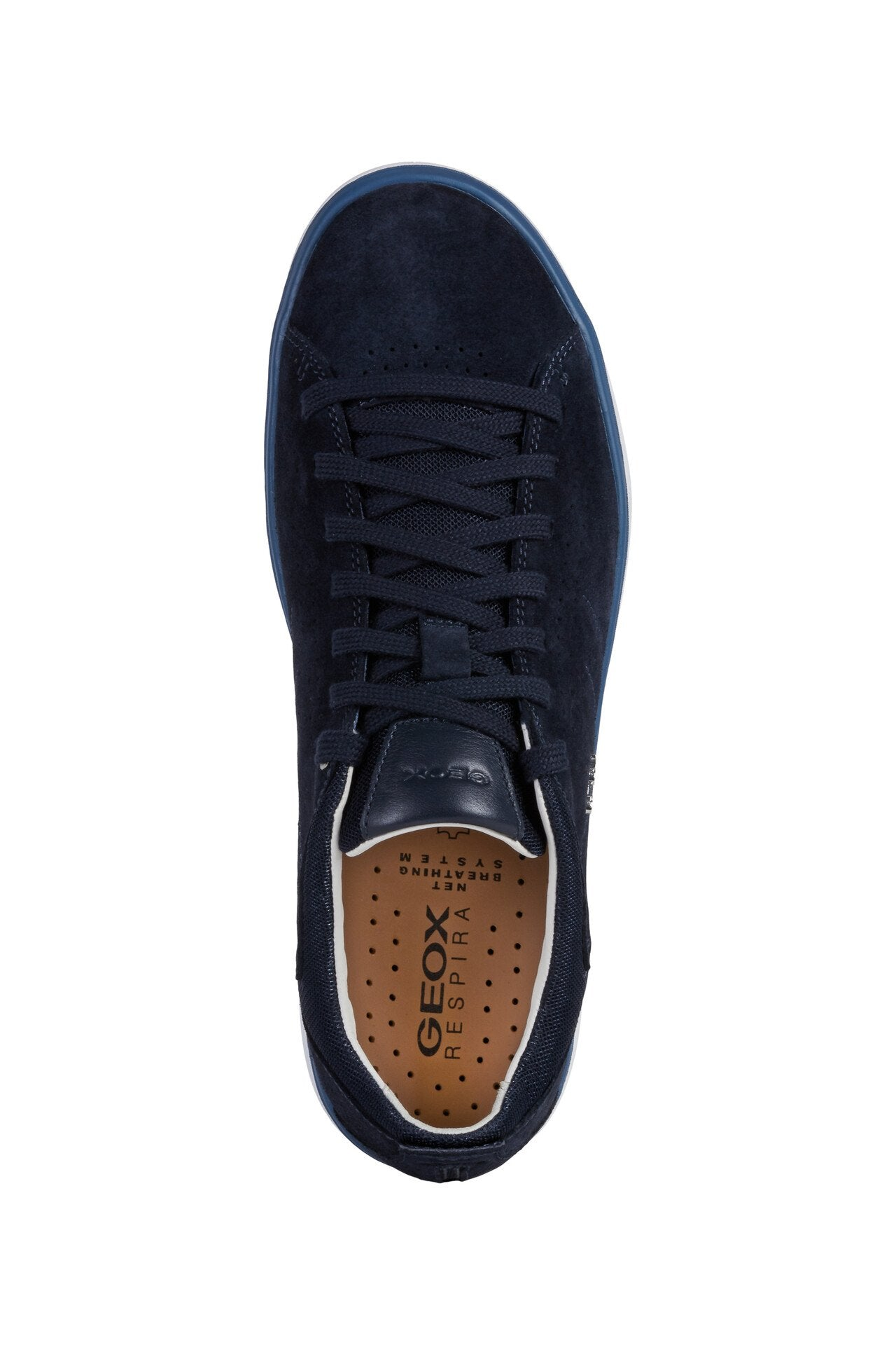 Geox Mens Blue U Nebula Y Trainers U948FA00022C4002 | Vilbury London