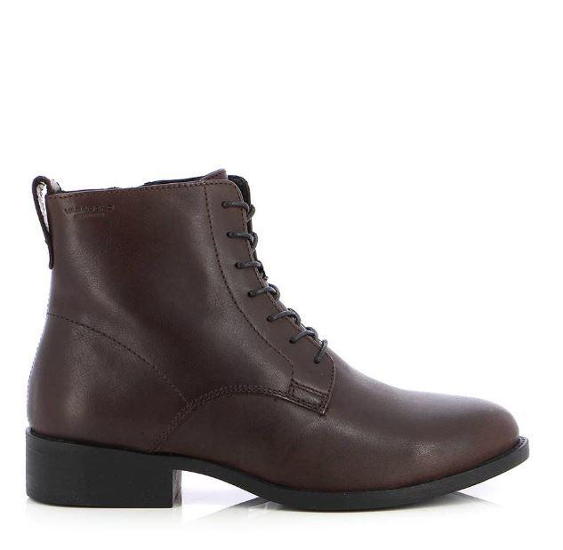 Vagabond Womens Cary Espresso Booties 4855-001-36 | Vilbury London