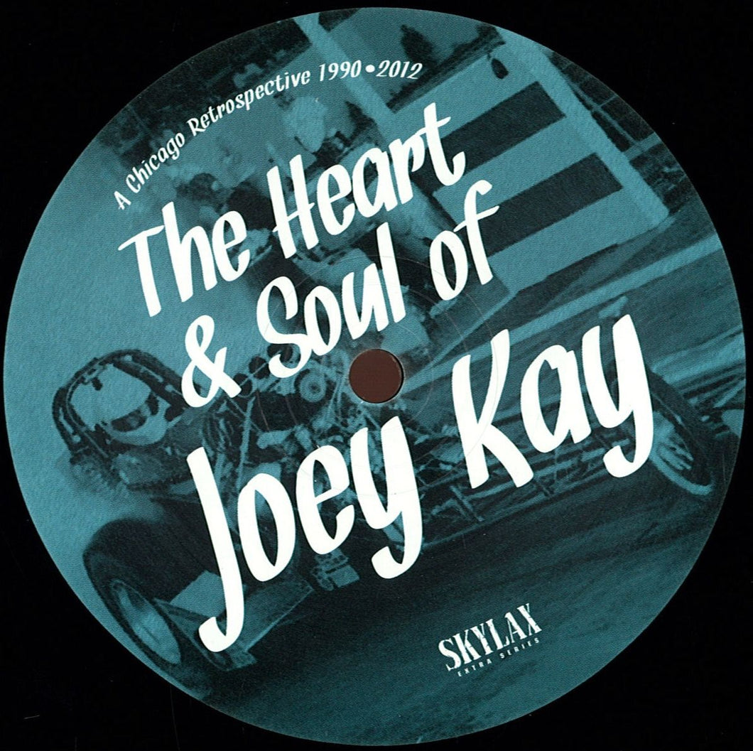 JOEY KAY - A CHICAGO RETROSPECTIVE 1990 - 2012 - THE HEART & SOUL OF JOEY KAY 2X12 LP - (LAX-ES2)