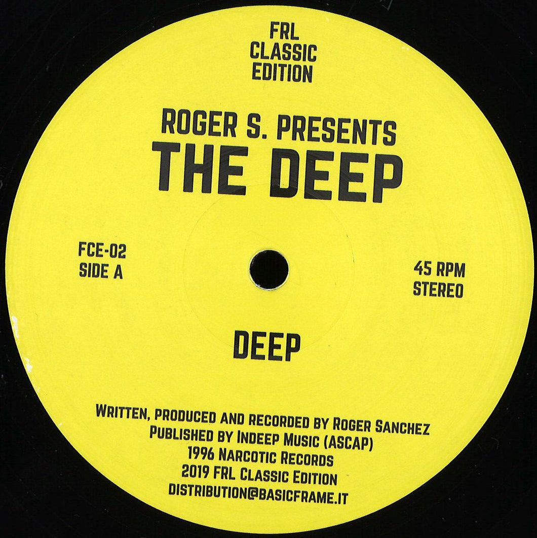 ROGER S PRESENTS THE DEEP - THE DEEP / VIBE - (FCE-02)