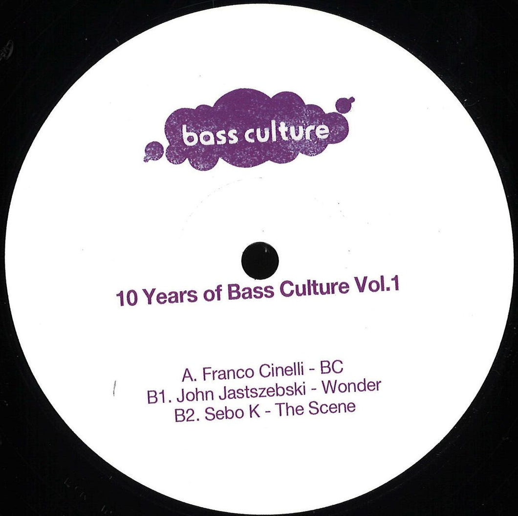 VARIOUS - 10 YEARS OF BASS CULTURE: PART 1 - (BCR060T)