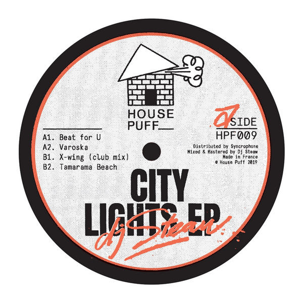 DJ STEAW - CITY LIGHTS EP - (HPF009)