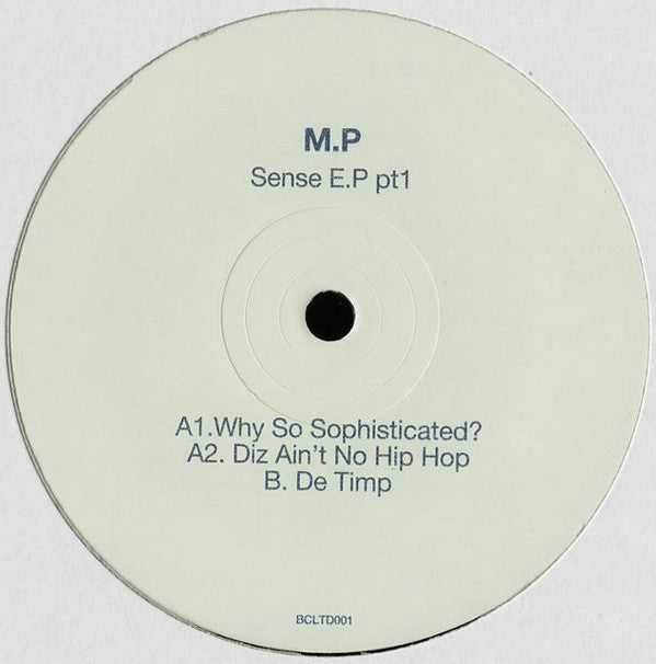 MP - SENSE EP PART1 - (BCLTD001)