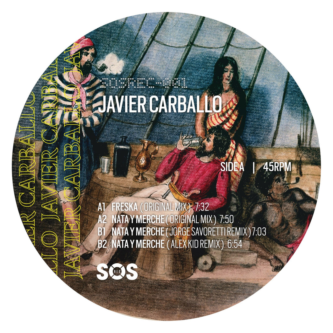 JAVIER CARBALLO - FRESKA (WITH JORGE SAVORETTI, ALEX KID REMIXES) - (SOSREC001)