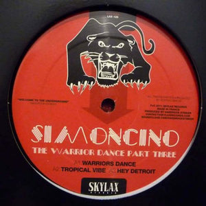 SIMONCINO - THE WARRIOR DANCE III (WITH CHEZ DAMIER & RON TRENT REMIXES) - (LAX125)