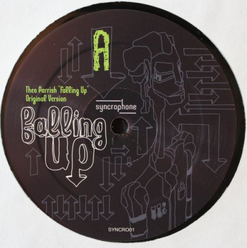 THEO PARRISH - FALLING UP (WITH CARL CRAIG, CHATEAU FLIGHT REMIXES) 2X12