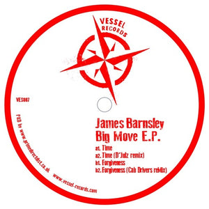 JAMES BARNSLEY	- BIG MOVE EP - (VES007)