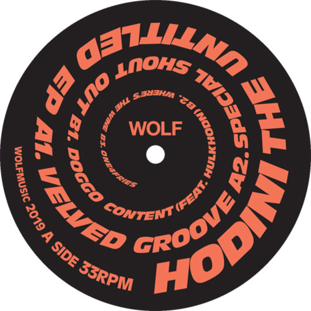 HODINI - THE UNTITLED EP - (WOLFEP053)