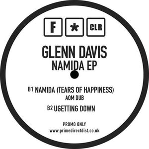 GLENN DAVIS - NAMIDA (TEARS OF HAPPINESS) EP - (FCLR010)