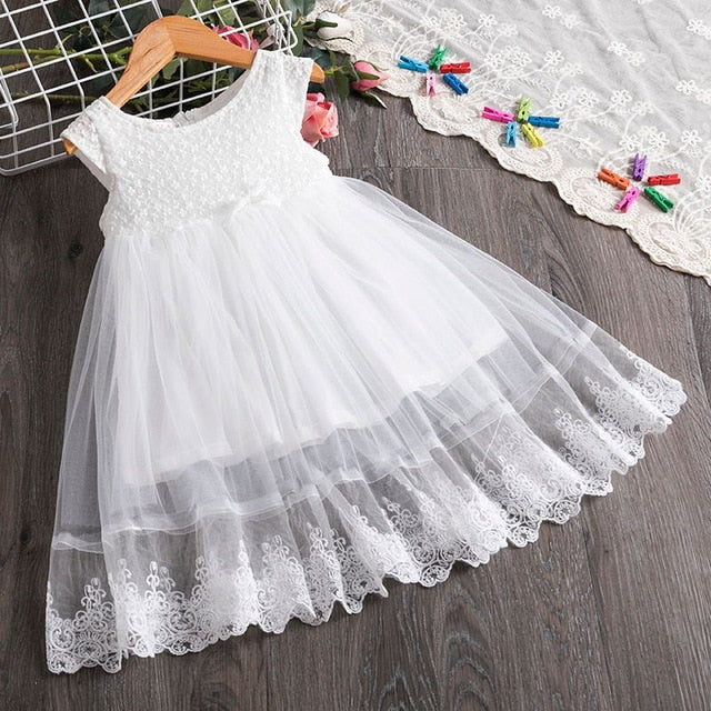Girls T-Shirt Half Sleeve Girl Top with Lace Summer Spring Autumn 2T 3T 4T 5 6 7