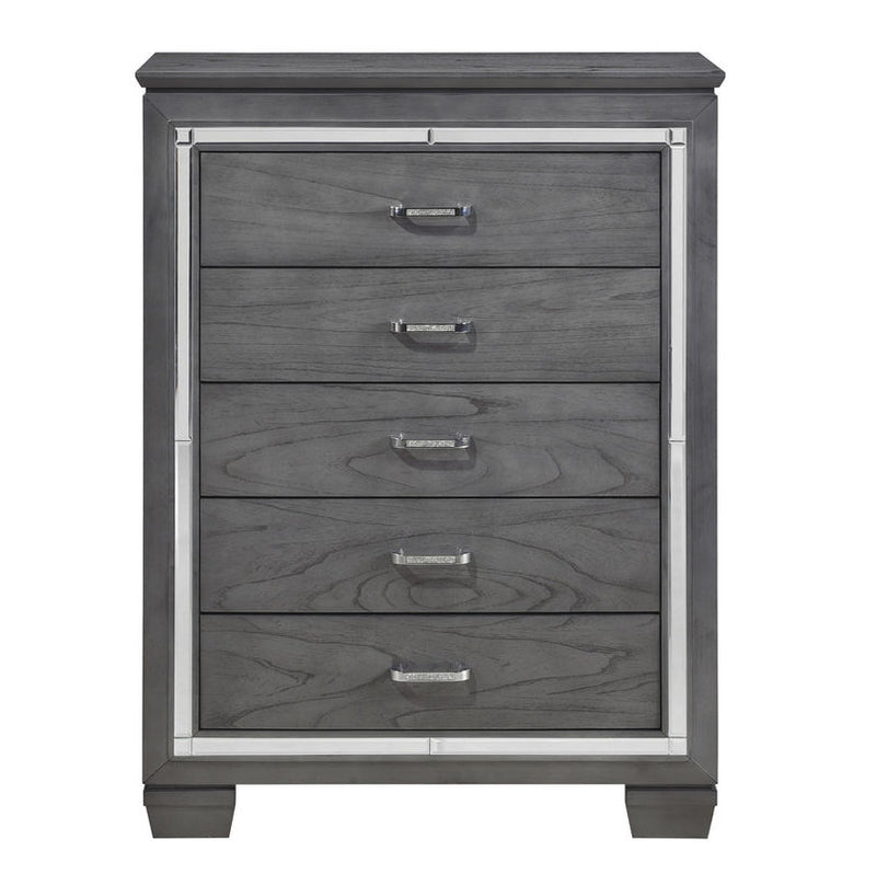Homelegance Allura Chest in Gray 1916GY-9