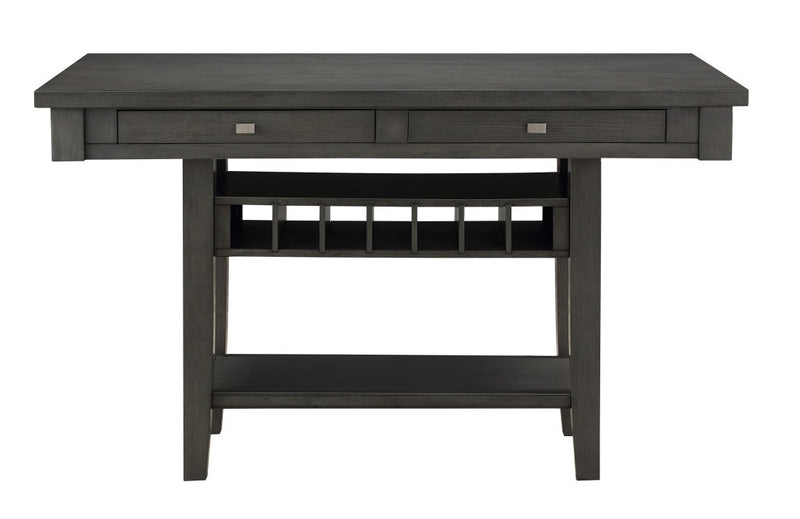 Homelegance Baresford Counter Height Table in Gray 5674-36*