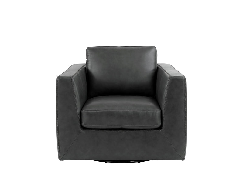 Leather Italia CHICAGO 6760 Swivel Chair