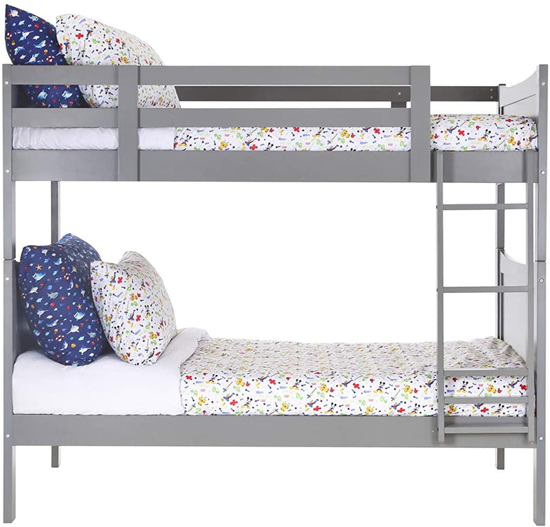 Bunk Bed Twin/Twin (Grey)