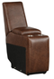 Homelegance Furniture Putnam Console with Receptacles and USB Port in Brown 9405BR-CN