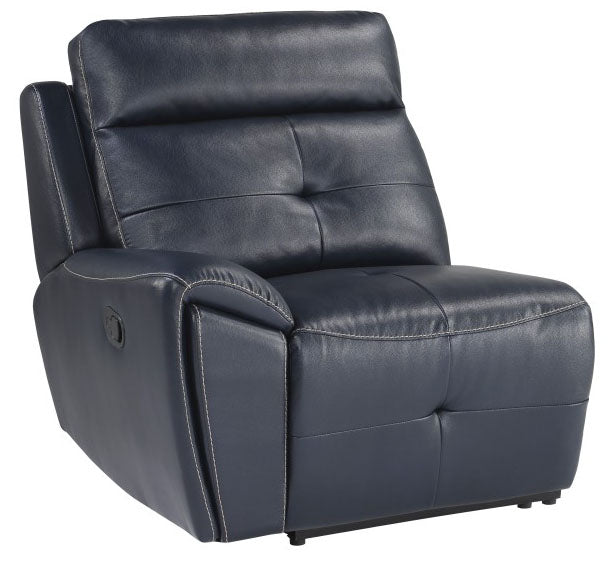 Homelegance Furniture Avenue Left Side Reclining Chair in Navy 9469NVB-LR image