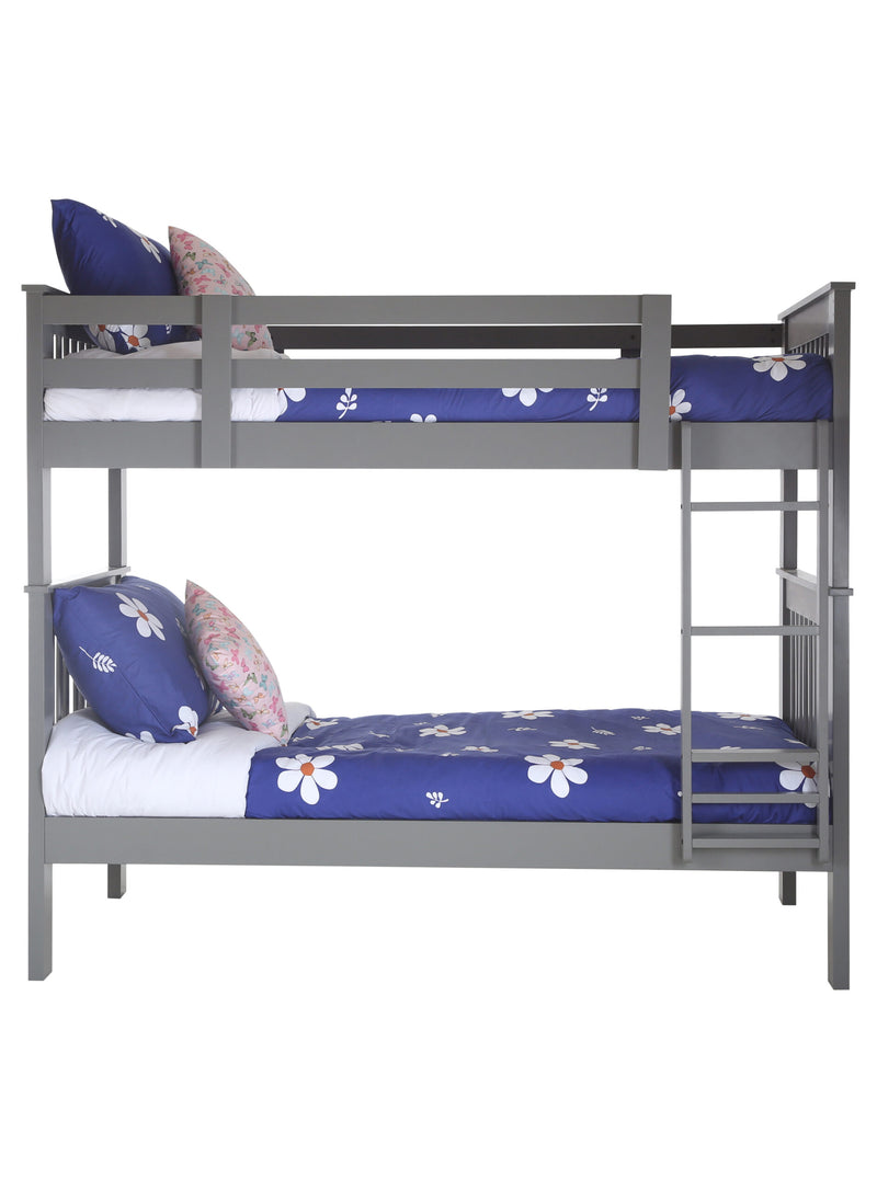Bunk Bed - Twin/Twin (Grey)