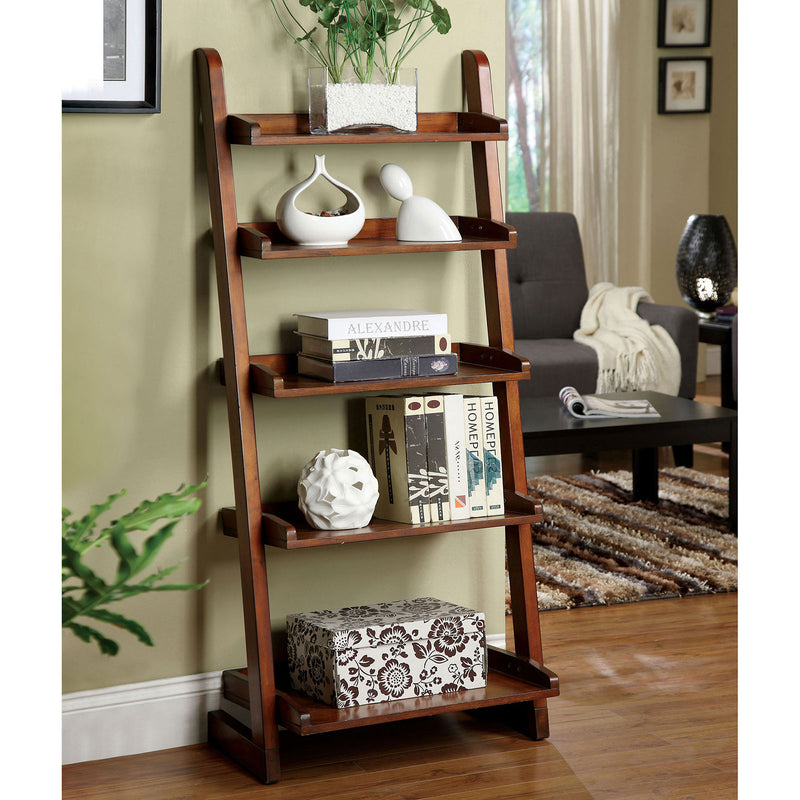 Lugo Antique Oak Ladder Shelf
