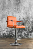 Corfu Orange Bar Stool image
