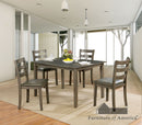 Marcelle Gray Dining Table Set