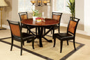 Salida I Acacia/Black 5 Pc. Dining Table Set image