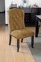Sania III Antique Black, Gold Side Chair (2/CTN) image