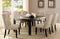 "Antique Black 72"" Dining Table image"