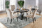Nerissa Antique Black 4 Pc. Dining Table Set w/ Bench