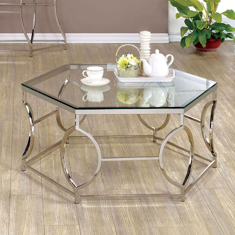 ZOLA Chrome Coffee Table image