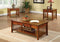 Seville Antique Oak 3 Pc. Table Set