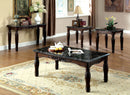 Brampton Espresso/Black 3 Pc. Table Set image