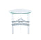 Tirso Chrome Round End Table image