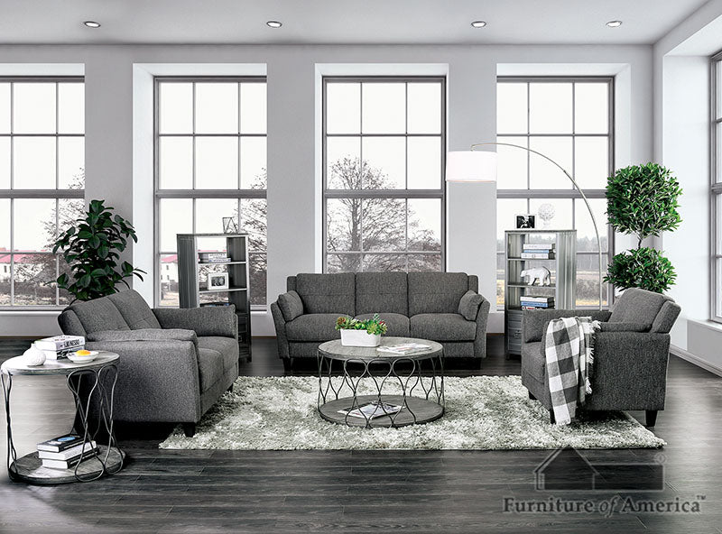 Yazmin Gray Sofa + Love Seat image