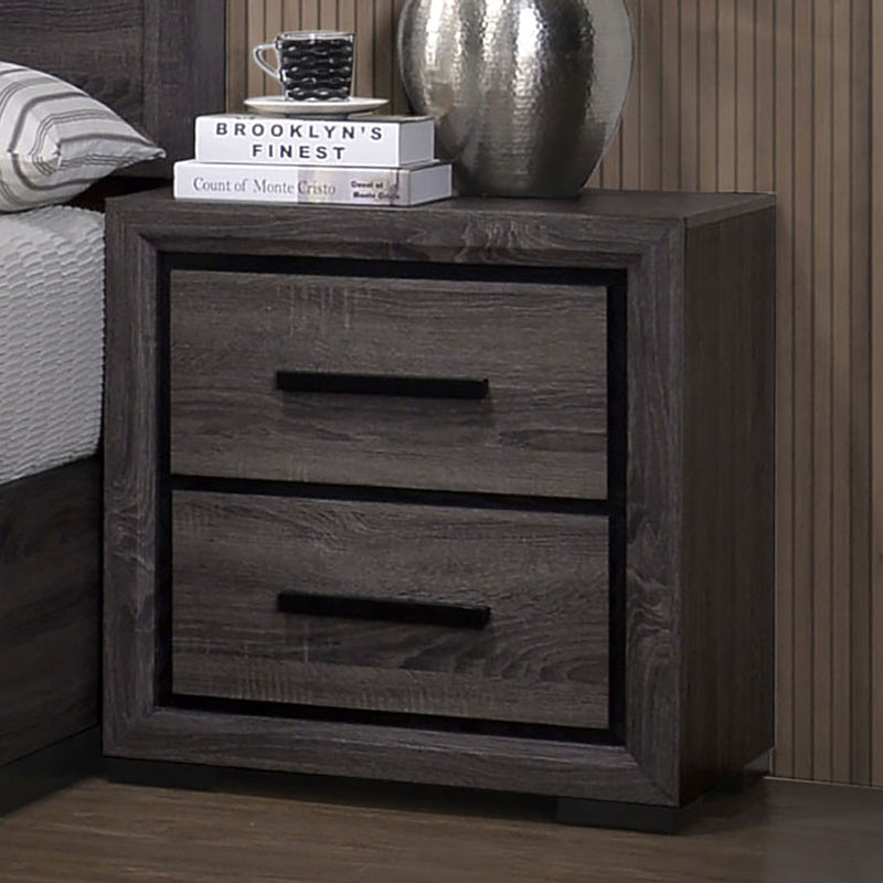 Conwy Gray Night Stand image
